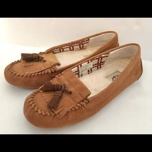 UGG Lizzy Moccasin 1005475 Brown Womens 7
